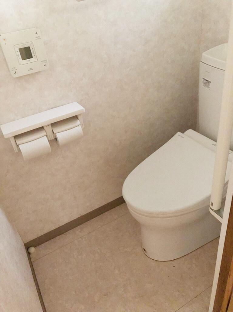 昭島 再建築不可の家 室内トイレ