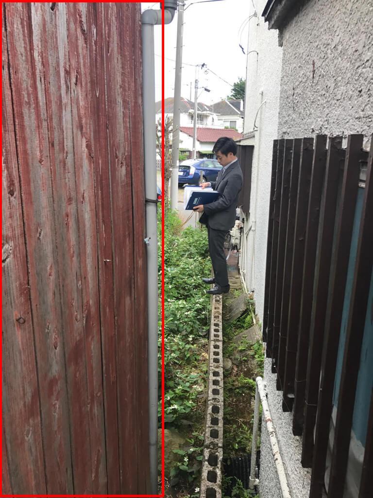成田東 ゴミの家 再建築不可の家 外観 調査中