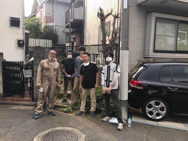 成田東 ゴミの家 再建築不可の家 工事部スタッフ