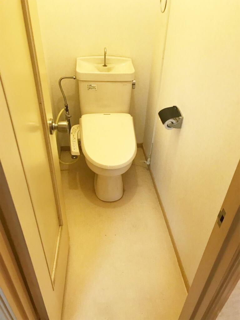 くぬぎ山 再建築不可の家 トイレ