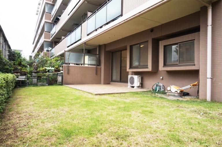 終活不動産 リノベーションマンション クリオ三鷹 専用庭