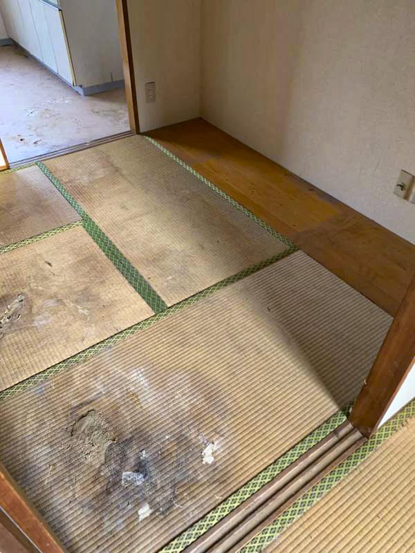 鎌倉笛田 入居率30%以下ご高齢者率100%アパート 室内