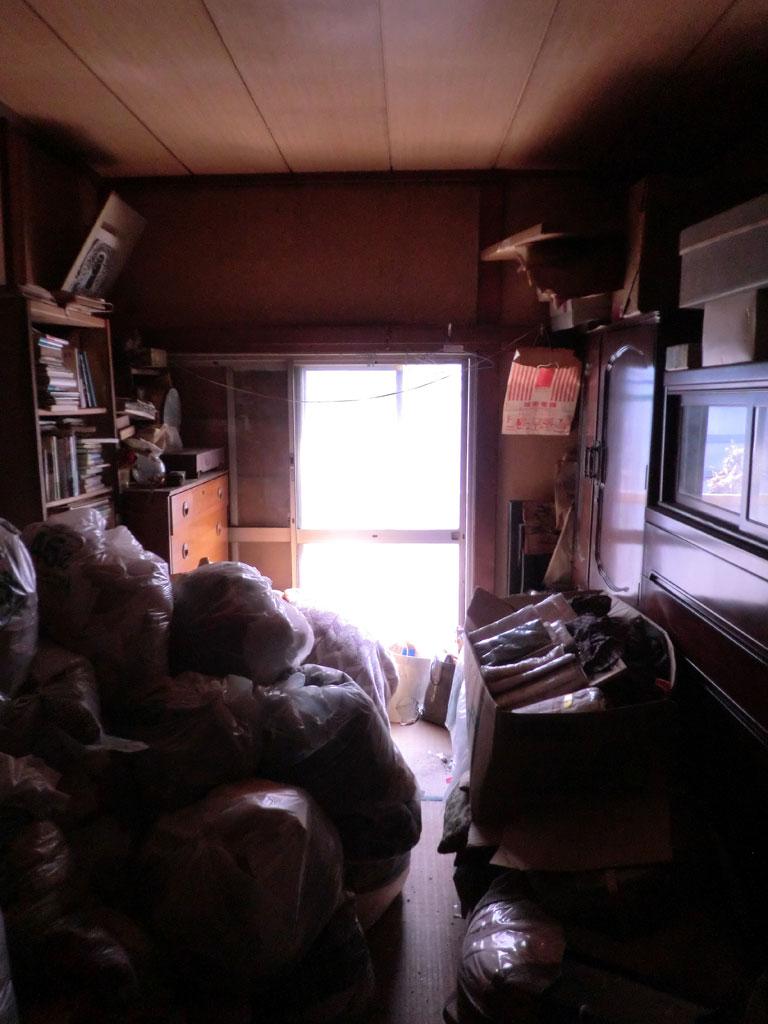 自由が丘 ゴミの家 和室