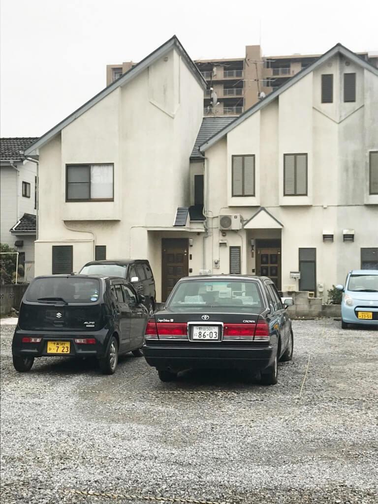 くぬぎ山 再建築不可の家 外観
