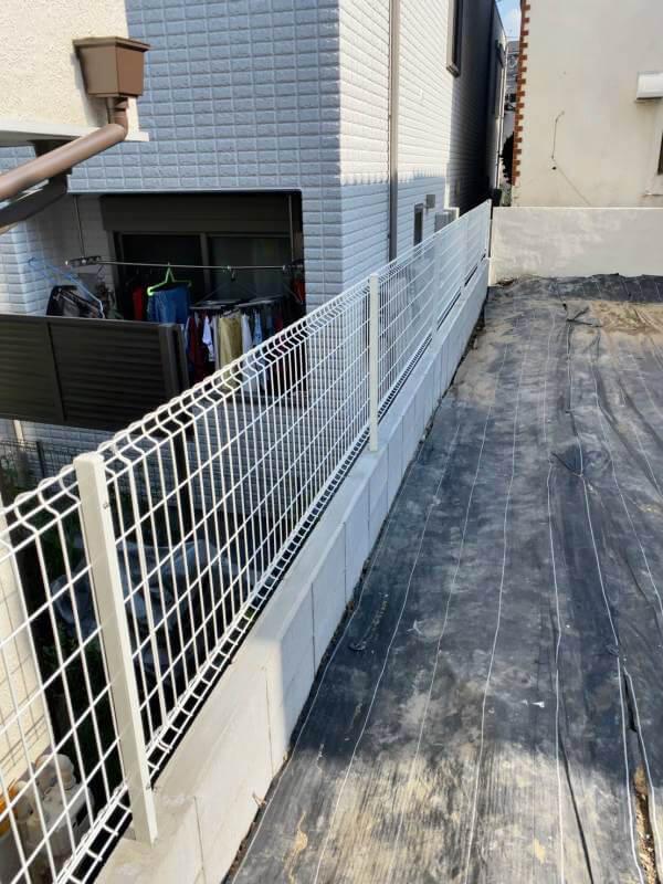 ブロック改修後 赤羽 未接道再建不可の更地